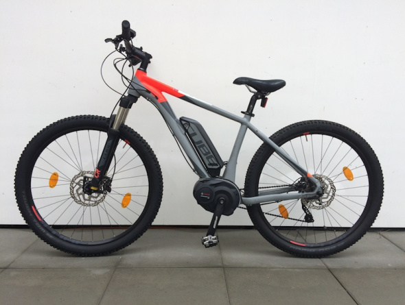 Cube Reaction Hybrid – E-Mountainbike (foto)